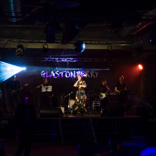 GIF fest в Glastonberry pub